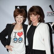 Frances Fisher and Patricia Richardson