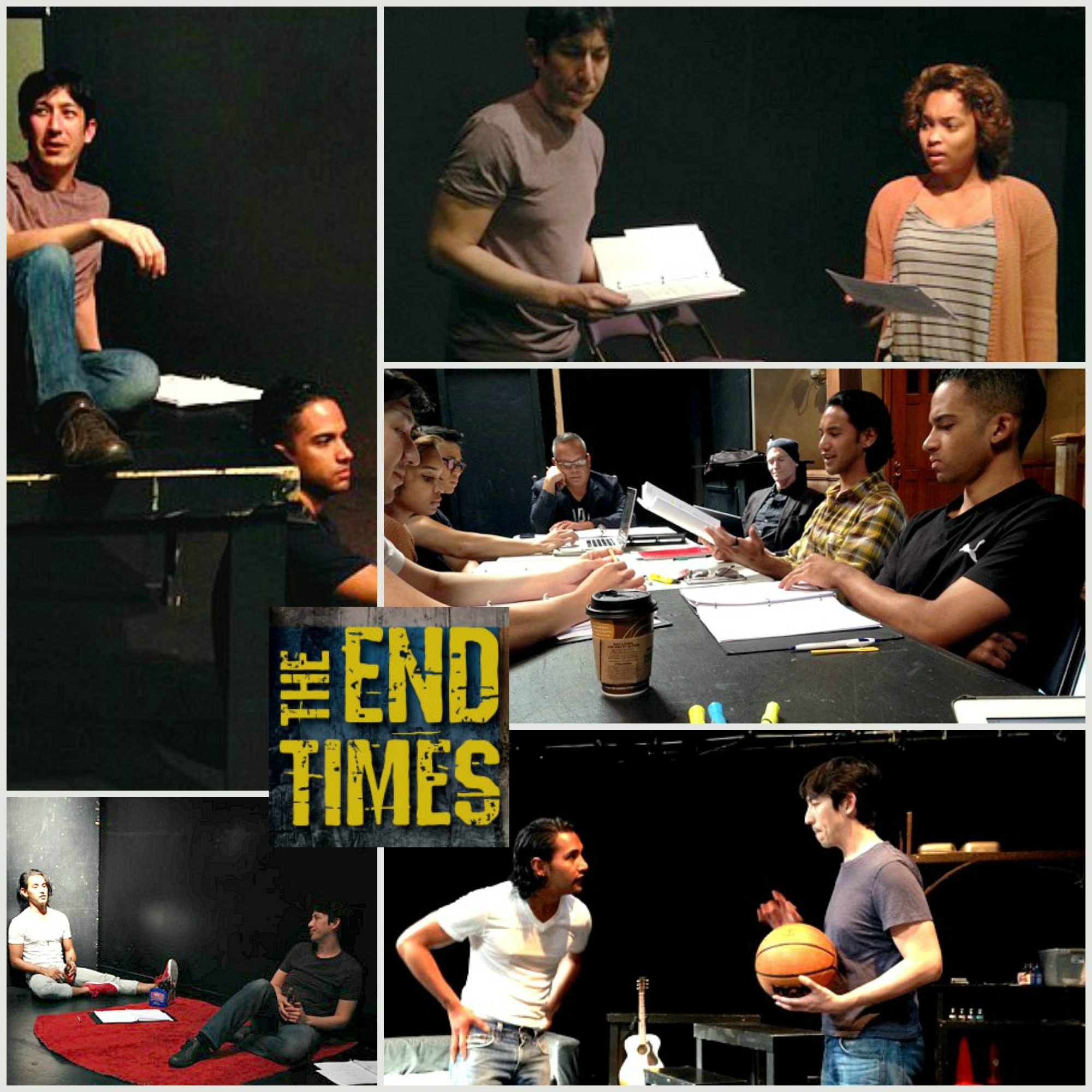 The End Times rehearsal photos