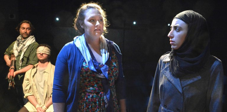 HOSTAGE, new play by Michelle Kholos Brooks