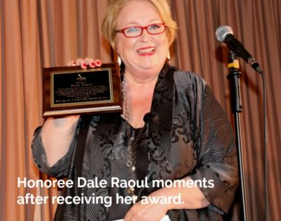 Actress Dale Raoul honored at Skylight Salute 2018
