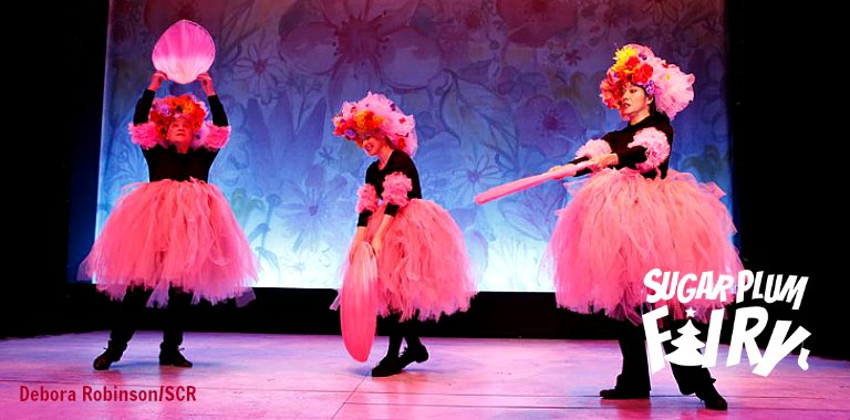 Dancing Flowers in SUGAR PLUM FAIRY at Skylight Theatre