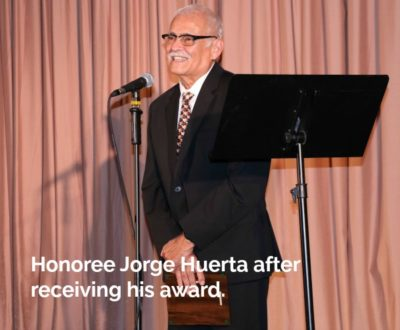 Dr Jorge Huerta honored at Skylight Salute 2018