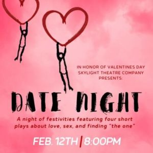 Date Night, Wed. Feb 12 Special Event in honor of Valentine's Day