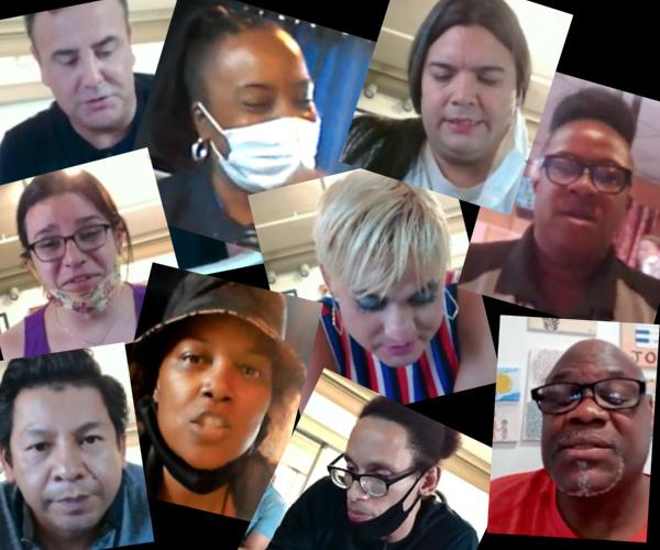 Ten unique voices, RELEASED NOT FREE