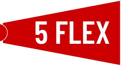 5 flex ticket Package